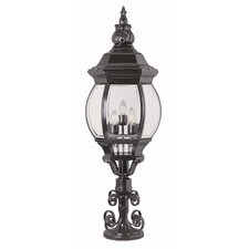 "5 Light 15.75"" Outdoor Post Lantern"