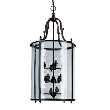 <strong>TransGlobe Lighting</strong> 12 Light Foyer Pendant