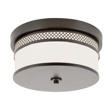 2 Light Medium Flush Mount