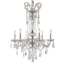 Versailles 6 Light Chandelier