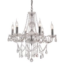 <strong>TransGlobe Lighting</strong> 6 Light Chandelier