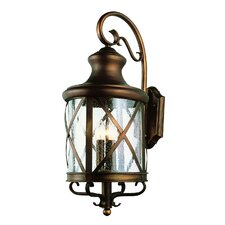 <strong>TransGlobe Lighting</strong> 4 Light Outdoor Wall Lantern