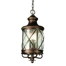 4 Light Outdoor Hanging Lantern
