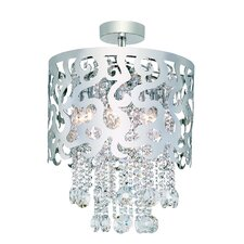 8 Light Semi Flush Mount