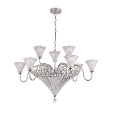 <strong>TransGlobe Lighting</strong> 12 Light Chandelier
