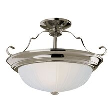 3 Light 14W Semi Flush Mount