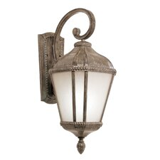 <strong>TransGlobe Lighting</strong> 1 Light Outdoor Small Down-Light Wall Lantern