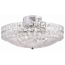 20 Light Semi Flush Mount