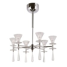 6 Light Chandelier with Shade