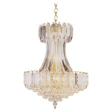 Back To Basics 8 Light Dynasty Acrylic Chandelier