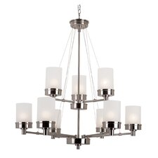 Urban Swag 9 Light Chandelier