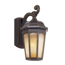 Tea Chateau 1 Light Outdoor Wall Lantern