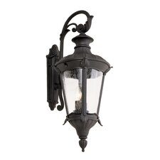 Imperial Leaf 2 Light Wall Lantern