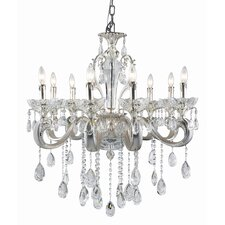 Helios 8 Light Crystal Chandelier