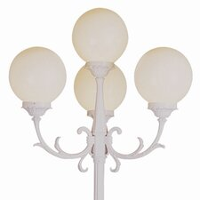 "Outdoor 4 Light 89"" Post Lantern Set"