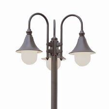 "Outdoor 3 Light 86"" Post Lantern Set"