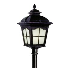 "Outdoor 1 Light 9"" Post Lantern Set"