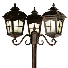 "3 Light 85"" Post Lantern Set"