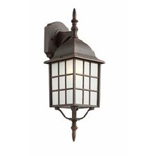 1 Light Outdoor Square Wall Lantern