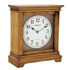 Flat Top Mantel Clock