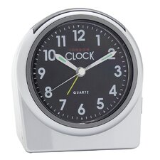 Alarm Clock in Silver