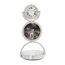 Double Spinning Quartz Clock