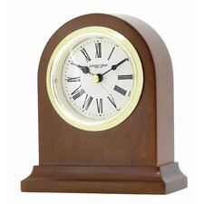 Arch Top Mantel Clock with Classic Roman Dial