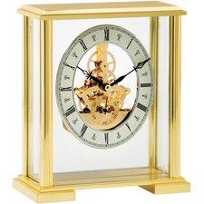 Classic Skeleton Movement Mantel Clock