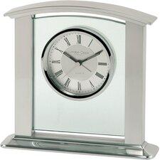 Classic Metal Mantel Clock