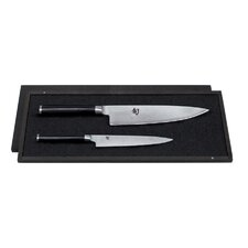Shun Utility and Chef's Knife Set