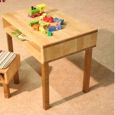 """Kindertisch """"Natura"""" mit offenem Ablagefach"""