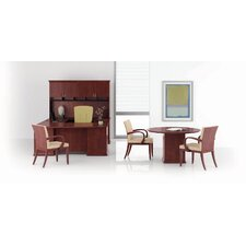 Prominence Bow Top Right Pedestal Desk Office Suite