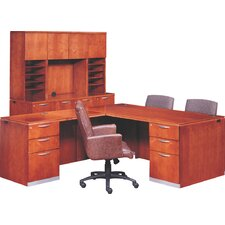 Reward Right Pedestal Executive Station with Bow Top