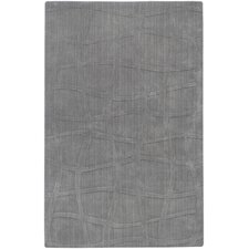 <strong>Candice Olson Rugs</strong> Sculpture Gray Checked Rug
