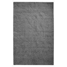 Sculpture Square Gray Rug