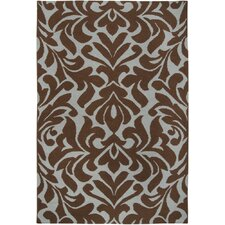 <strong>Candice Olson Rugs</strong> Market Place Chocolate Rug