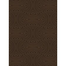 Luminous Dark Brown Rug