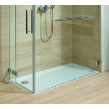 "Superplan XXL 27.6"" x 55.1"" Shower Tray in White"