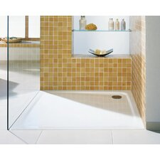 "Superplan 35.4"" x 39.4"" Shower Tray in White"