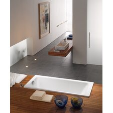 "<strong>Kaldewei</strong> Puro 71"" x 32"" Three Wall Bathtub with Reversible Drain"