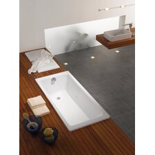 "Puro 71"" x 32"" Bathtub with Reversible Drain"