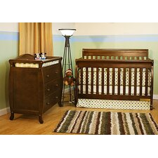 <strong>AFG Furniture</strong> Alice 3-in-1 Convertible Crib Set