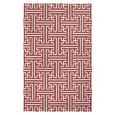 Archive Coral/Ivory Area Rug
