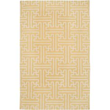 Archive Yellow/Ivory Area Rug