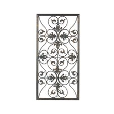 Forged Metal Grille Wall Decor
