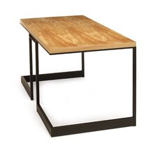 Wishbone Slab Top Writing Desk