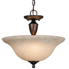 Centennial 3 Lights Convertible Inverted Pendant
