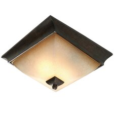 <strong>Golden Lighting</strong> Origins 2 Lights Flush Mount