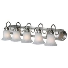 Brookfield 5 Light Vanity Light