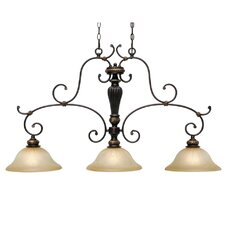 Jefferson Island 3 Light Pendant